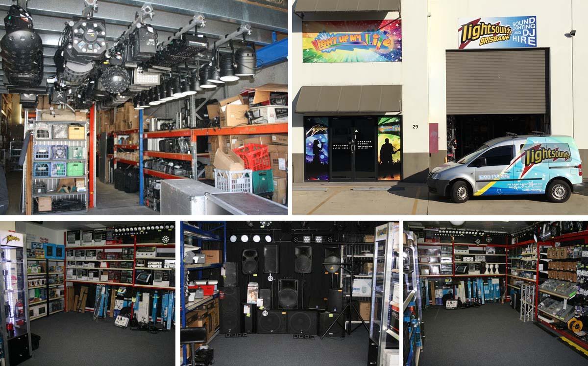 Lightsounds Brisbane Store