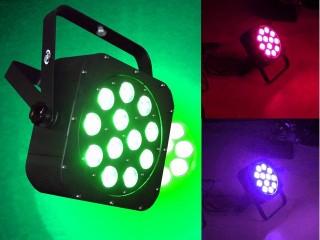 12x10W 5-in-1 LED Flat PAR64 RGBWUV