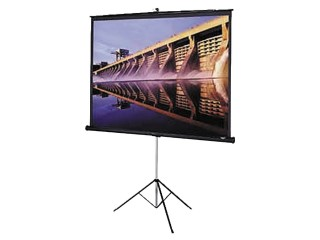 2.4m Tripod Projector Screen