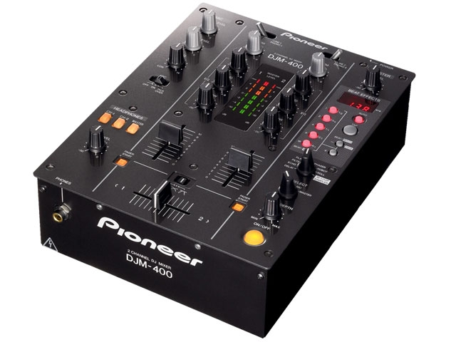2 Channel DJ Mixer