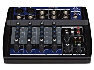 2 Mic / 4 Stereo Mixer