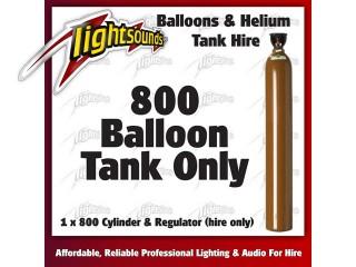 800 Helium Tank