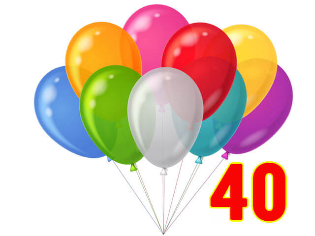 40 Balloons Pack