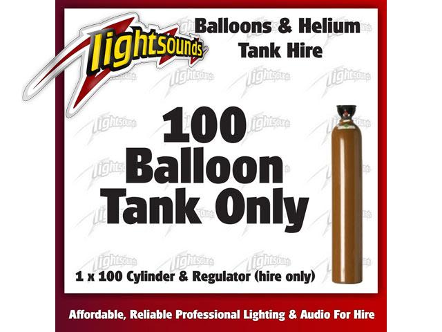 100 Helium Tank