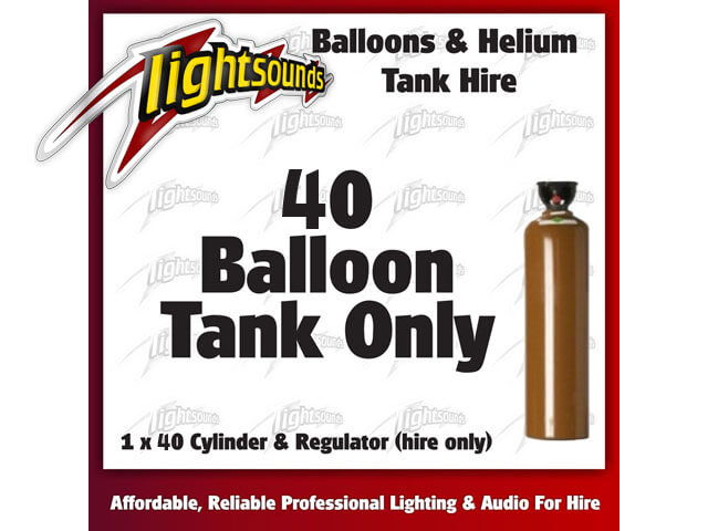 40 Helium Tank
