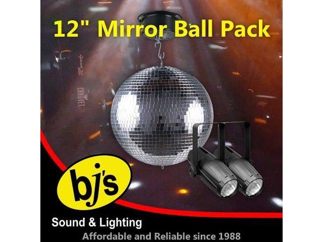 "12"" Mirror Ball Pack"