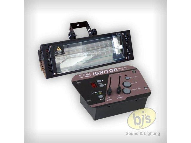 1500 Watt DMX or Sound Active Strobe & Controller