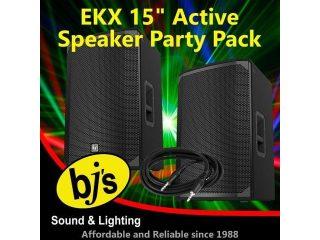 """EKX 15"""" Active Party Pack"""