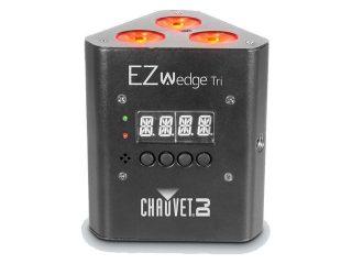 Chauvet Battery Powered EZWedge Tri RGB LED Up Light