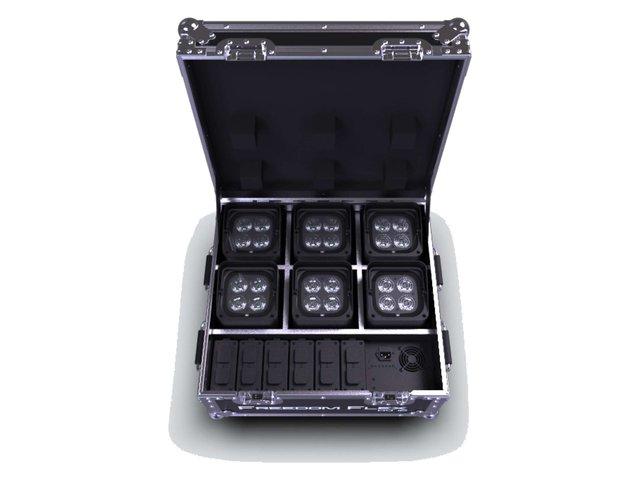 Chauvet DJ Freedom Flex H4 IP Battery Wash Uplights (Pack of 6)