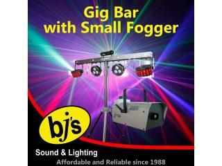 Gig Bar with Small Smoke Machine