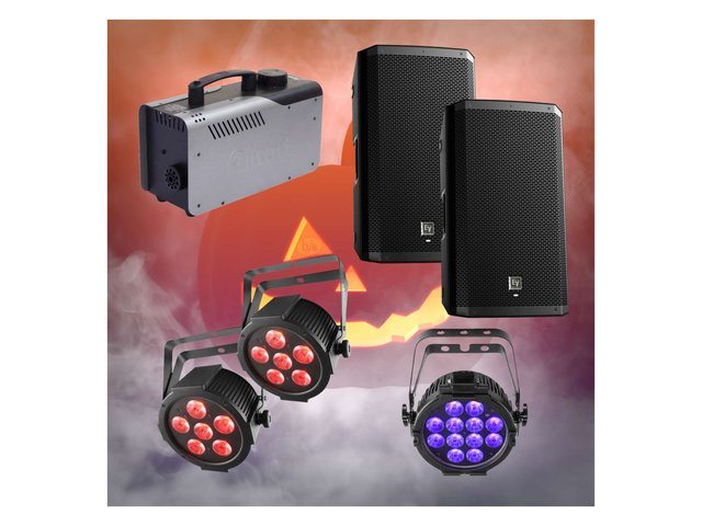 Halloween Small Pack with Pair of 12inch Speakers