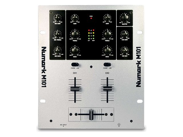 Numark M101USB 2ch DJ Mixer