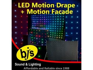 LED Motion Drape & Facade Pack