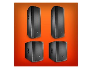 "PRX Double 15"" with 18"" Subwoofer Active Speaker Pack"