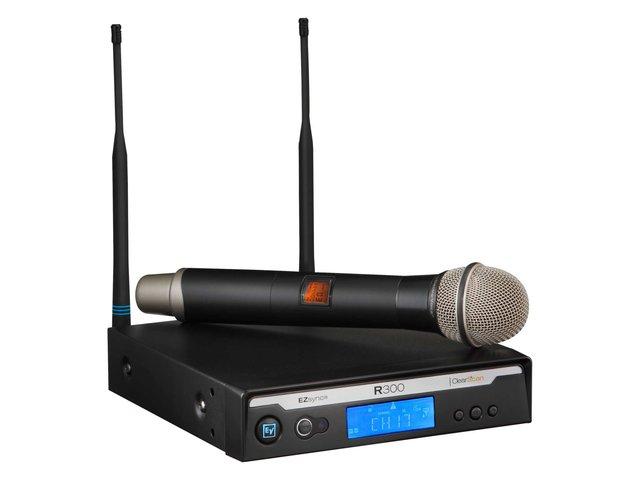 EV R300 UHF Wireless Handheld Microphone