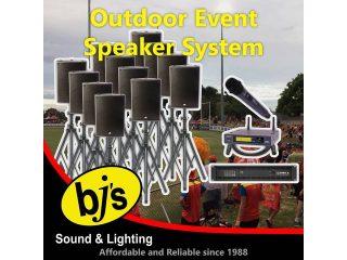 Outdoor Event Speaker System