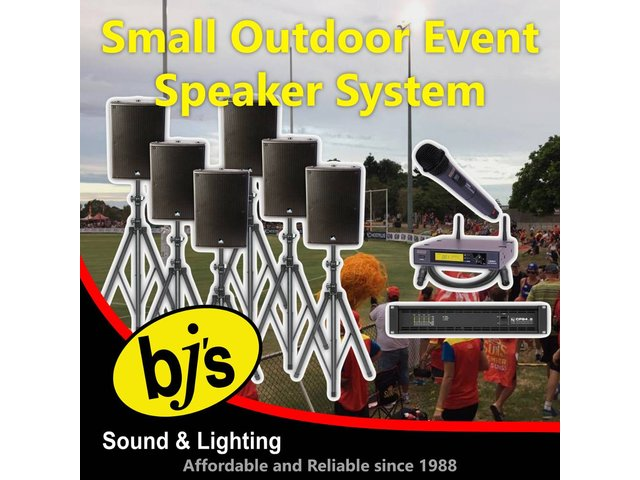Outdoor Event Speaker System - Small