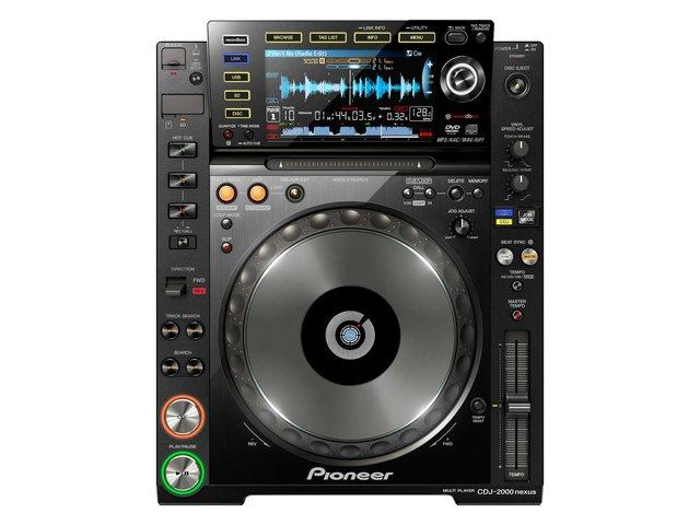 Pioneer CDJ-2000NXS - Professional Multi Player