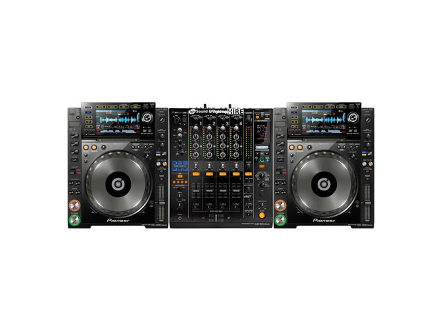 Pioneer DJ System 2x CDJ2000NXS + DJM900NXS