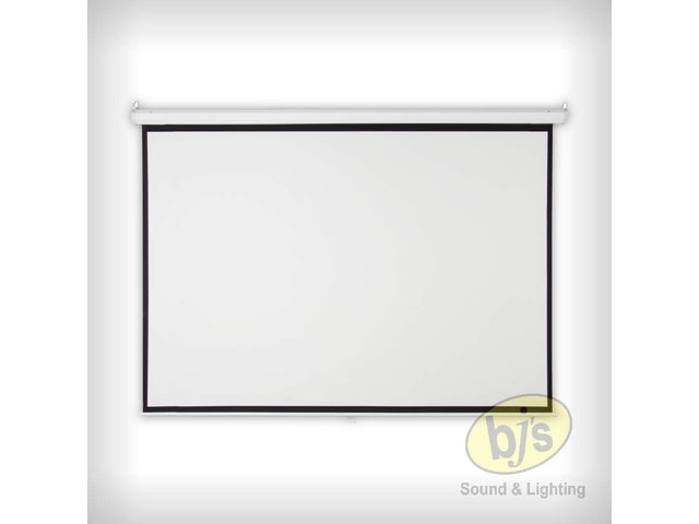 """Projector Screen Pull Down 84"""""""