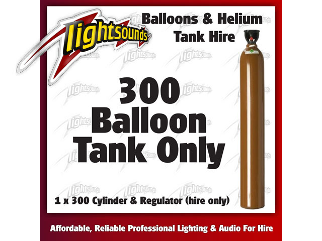 300 Helium Tank