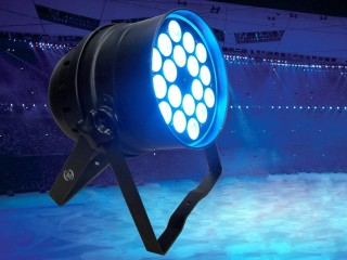 3W LED Parcan with 18pcs of 3W tri colour LEDs