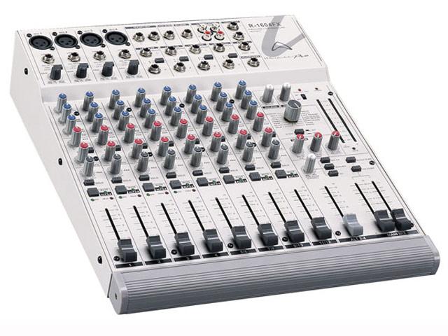 4 Mic / 4 Stereo Mixer