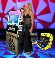 JUKEBOX, KARAOKE, ARCADE GAMES HIRE
