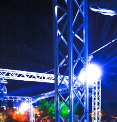 STAGING HIRE, TRUSS HIRE