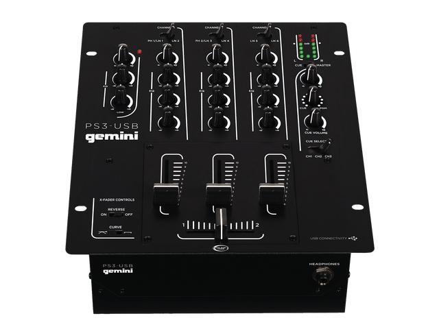 Gemini PS3 DJ Mixer