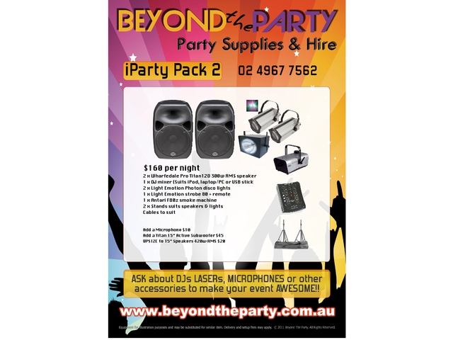 iParty Pack 1