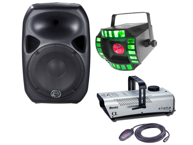 Ipod Party Pack Inc Speaker + F80 + FX Light