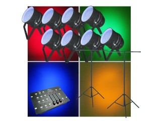 Large LED Parcan Pack