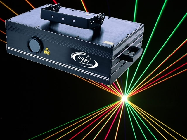 Large Red Green Blue Laser