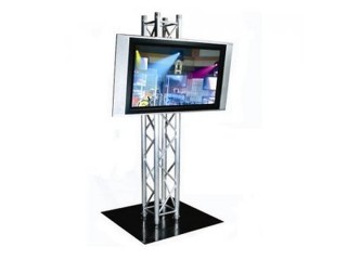 "LCD Plasma 42""  TV incl Upright 2mtr Truss & Base plate"