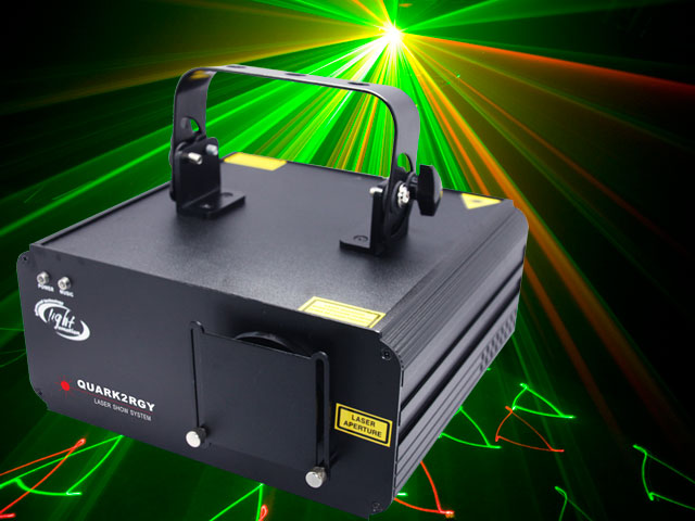 Light Emotion QUARK 2 RGY Laser