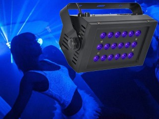 Light Emotion 18x1watt UV Wash Light with DMX