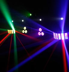 Party Hire, Disco Lights, Smoke Machine