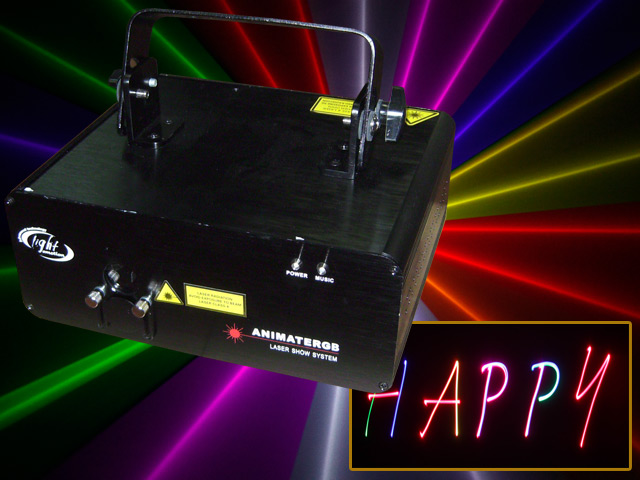 Medium Animate RGB Laser
