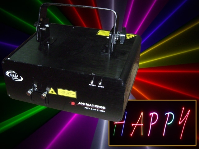 Medium Animate RGB Laser
