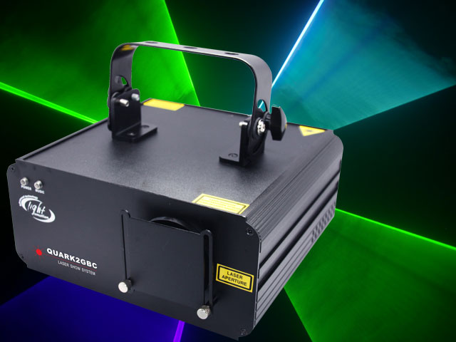 Medium Green Blue Cyan Laser