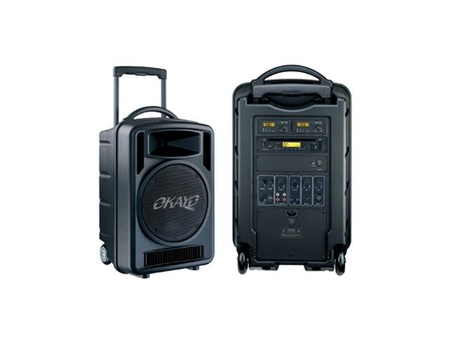 Okayo 100watt Wireless Handheld/Lapel Battery PA System
