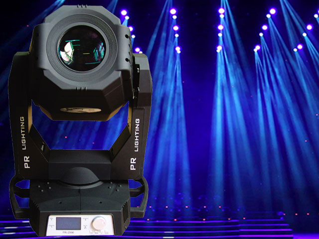 PR Lighting XL575 Moving Head with Roadcase