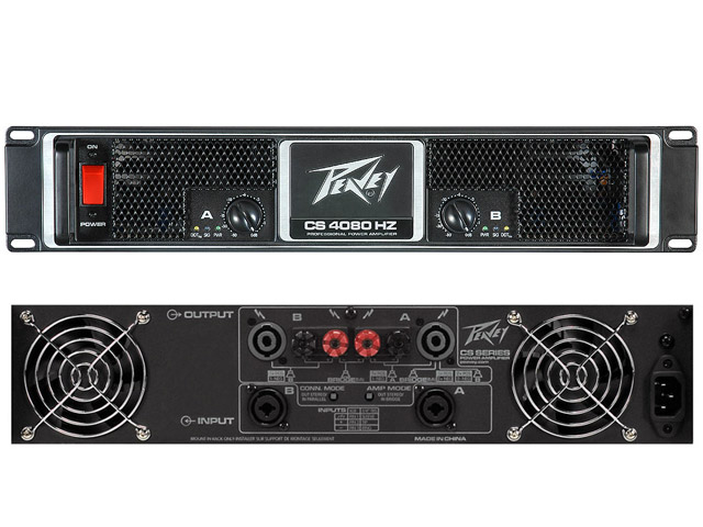 Peavey CS4080 Power amp 2000w @ 4Ohms/ch