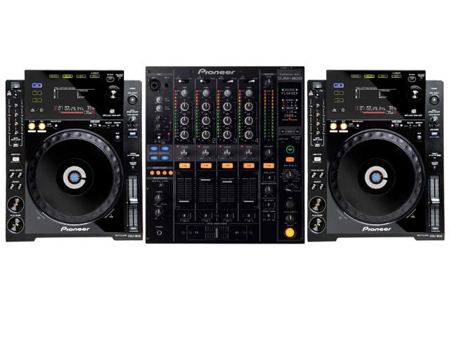 Pioneer CDJ900 Pack