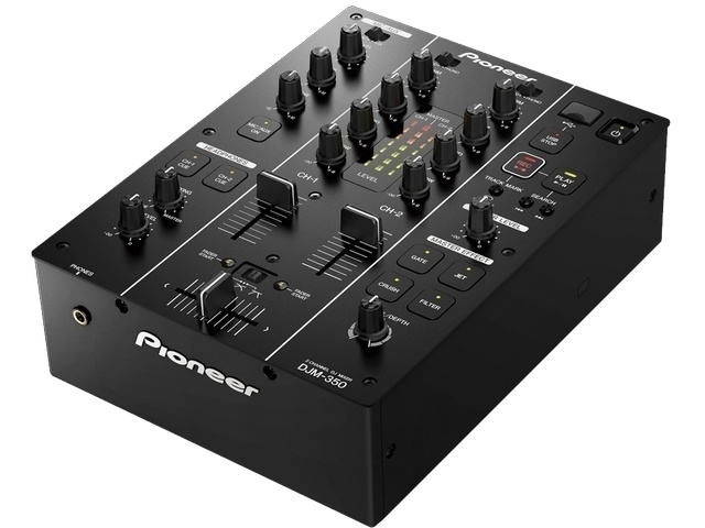 2 Channel DJ Mixer with USB recording