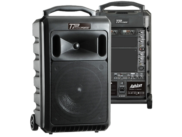 120W Portable Battery Powered PA