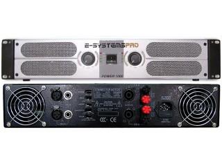 Power Amp 2 x 500W @ 4 Ohms
