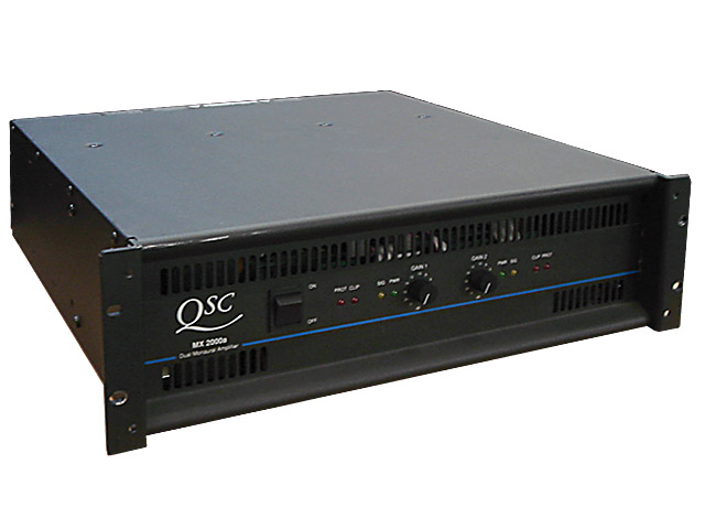 QSC MX2000a Power Amp 650w @ 4Ohms per ch